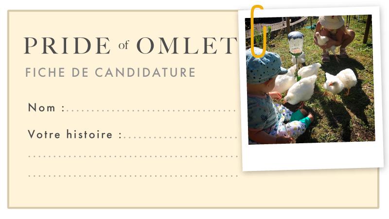 Pride of Omlet Fiche de candidature